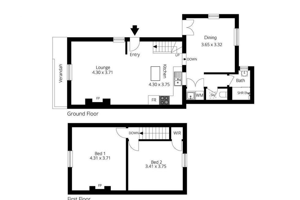 Floorplan of Homely house listing, 22 Queen Street, Adelaide SA 5000