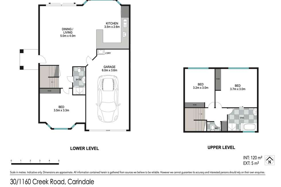 Floorplan of Homely townhouse listing, 30/1160 Creek Road, Carina Heights QLD 4152