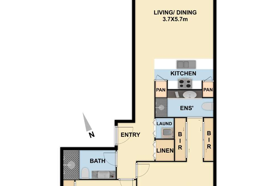 Floorplan of Homely apartment listing, G04/629 Canterbury Road, Surrey Hills VIC 3127