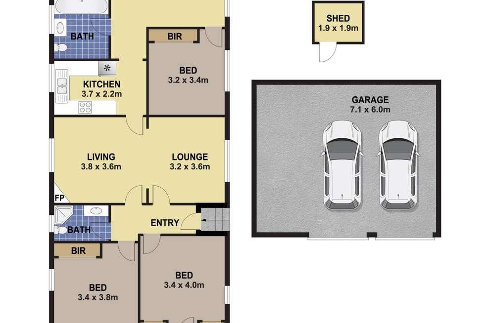 Floorplan of Homely house listing, 5 Angus Avenue, Auburn NSW 2144