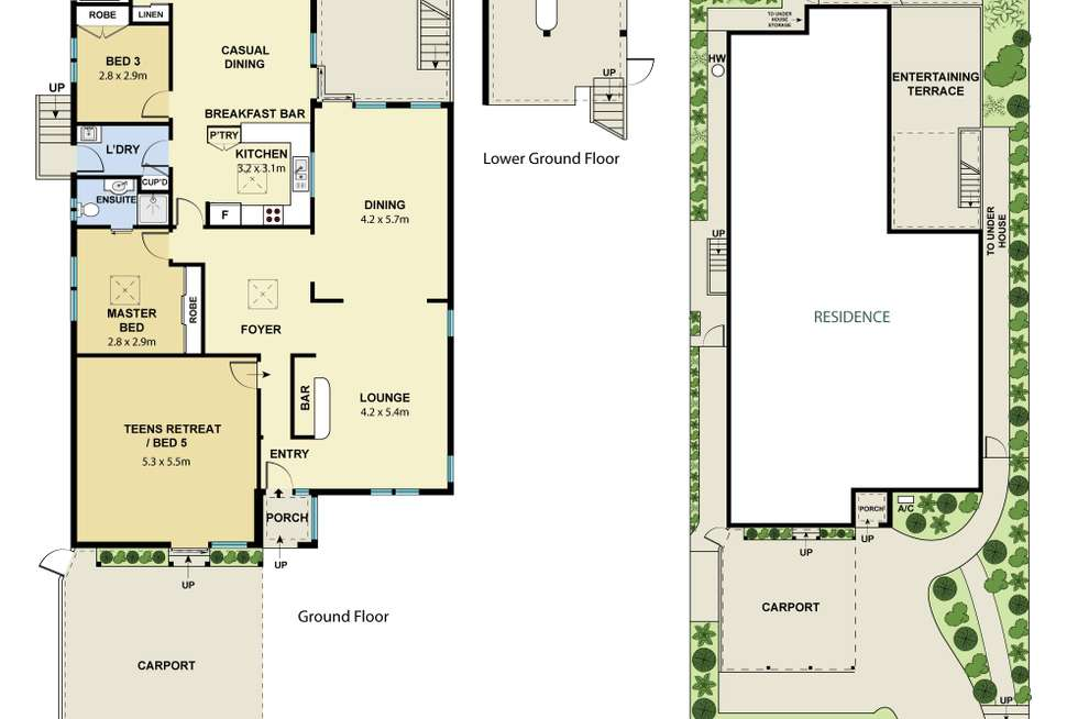 Floorplan of Homely house listing, 290 Warringah Road, Beacon Hill NSW 2100