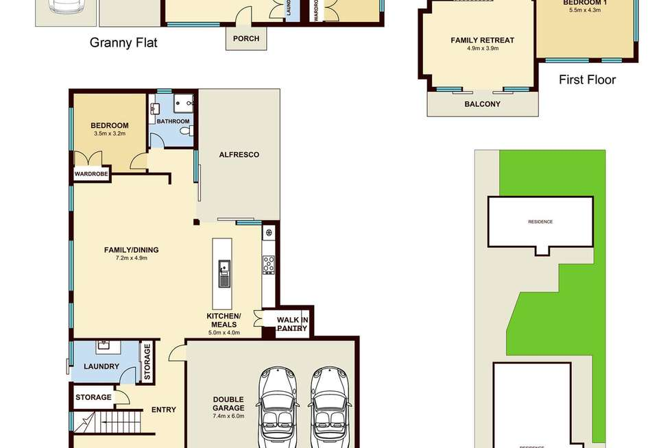 Floorplan of Homely house listing, 7 Baldwin Avenue, Asquith NSW 2077