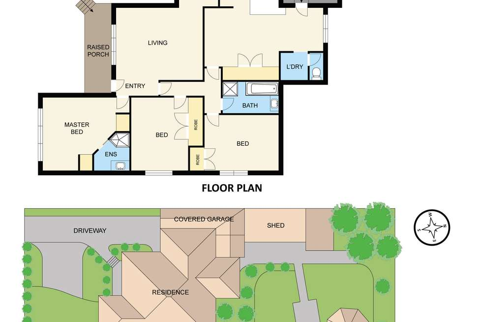 Floorplan of Homely house listing, 26 Albert Road, Hallam VIC 3803