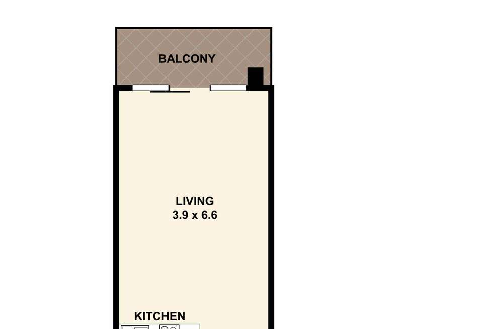 Floorplan of Homely apartment listing, 52/75-79 Jersey Street North, Hornsby NSW 2077