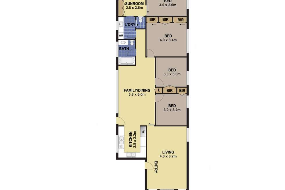 Floorplan of Homely house listing, 165 Park Road, Auburn NSW 2144