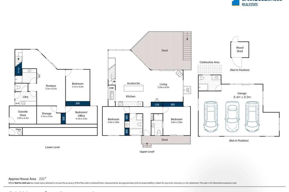 Floorplan of Homely house listing, 34 Waverley Avenue, Lorne VIC 3232