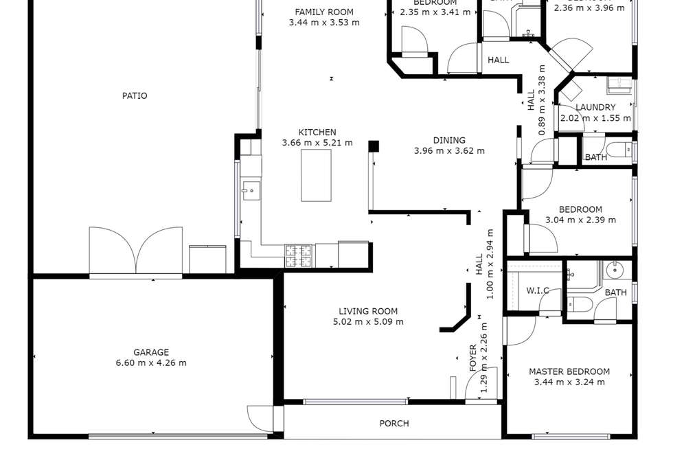 Floorplan of Homely house listing, 26 Wilcannia Elbow, Currambine WA 6028
