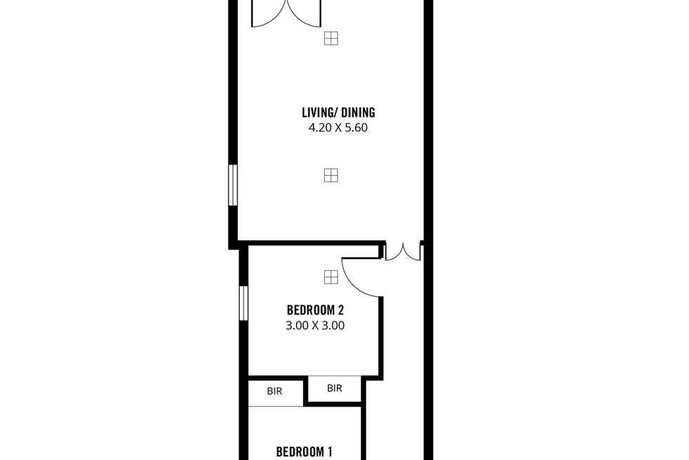 Floorplan of Homely house listing, 184 Gilbert Street, Adelaide SA 5000