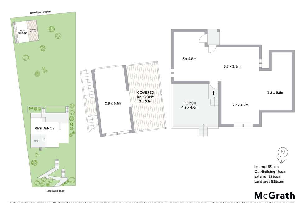 Floorplan of Homely house listing, 15 Bay View Crescent, Blackwall NSW 2256