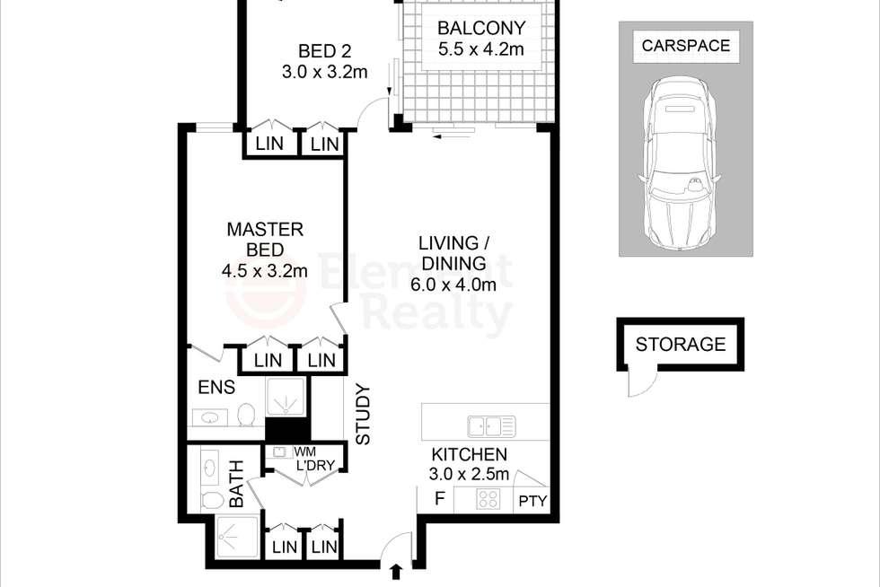 Floorplan of Homely apartment listing, 107/7 Rutledge Street, Eastwood NSW 2122
