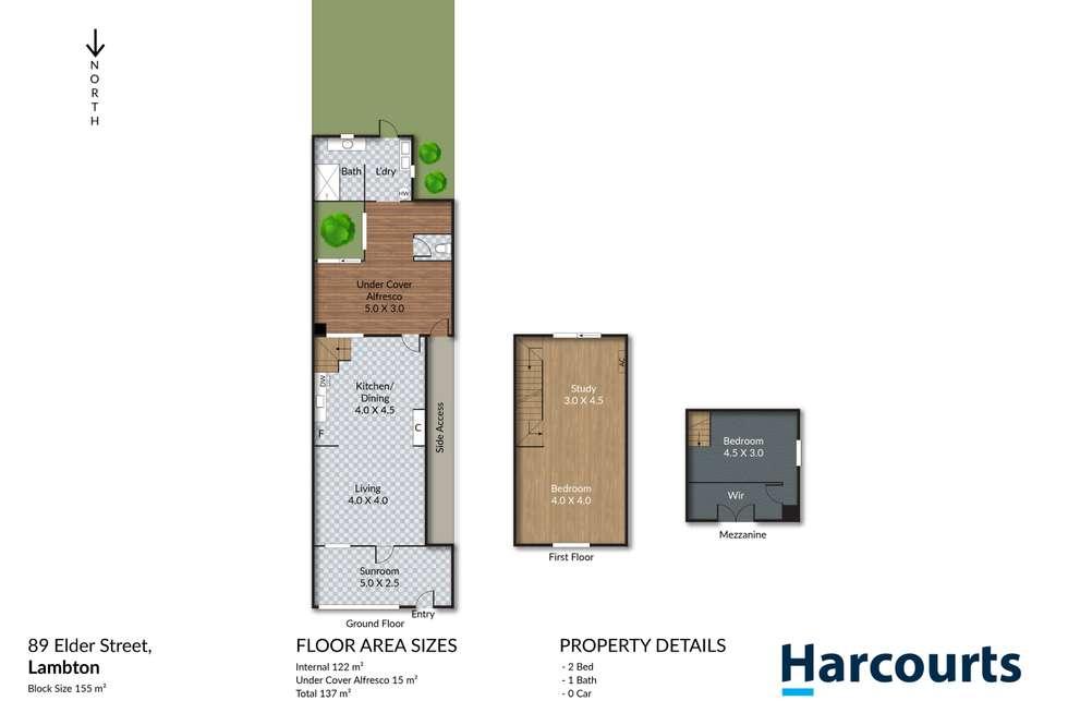 Floorplan of Homely house listing, 89 Elder Street, Lambton NSW 2299