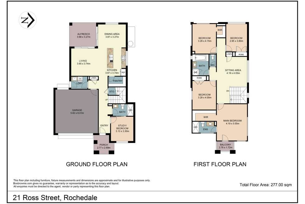 Floorplan of Homely house listing, 21 Ross Street, Rochedale QLD 4123