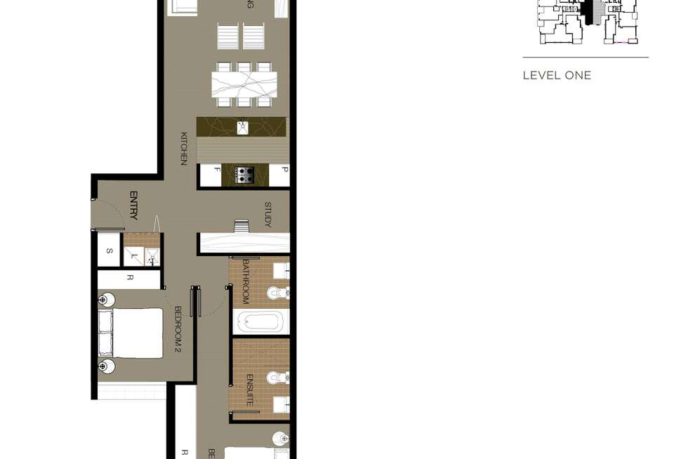Floorplan of Homely apartment listing, 40/554-560 Mowbray Road, Lane Cove NSW 2066