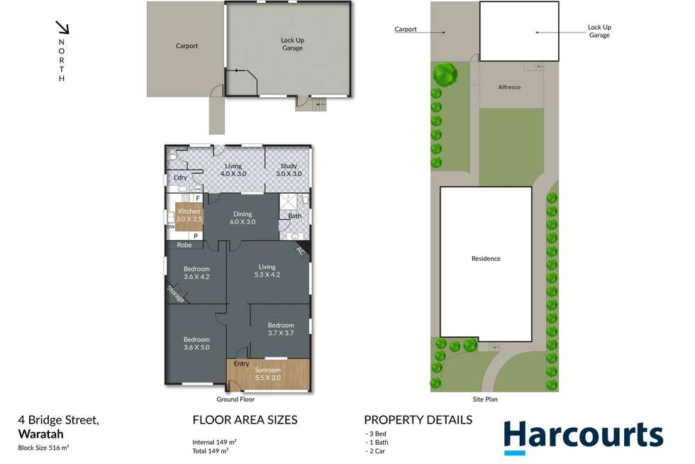 Floorplan of Homely house listing, 4 Bridge Street, Waratah NSW 2298