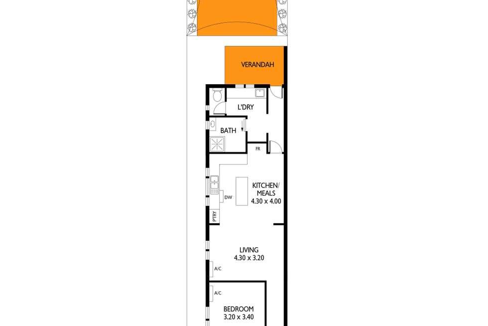 Floorplan of Homely house listing, 6 King Street, Mile End SA 5031