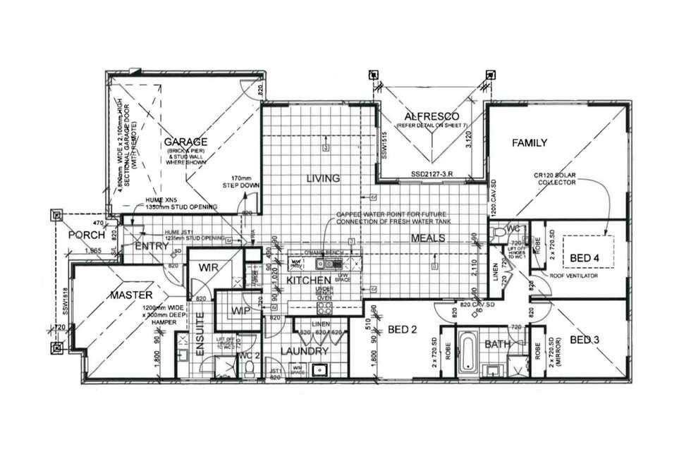 Floorplan of Homely house listing, 16 Rachel Terrace, Maiden Gully VIC 3551