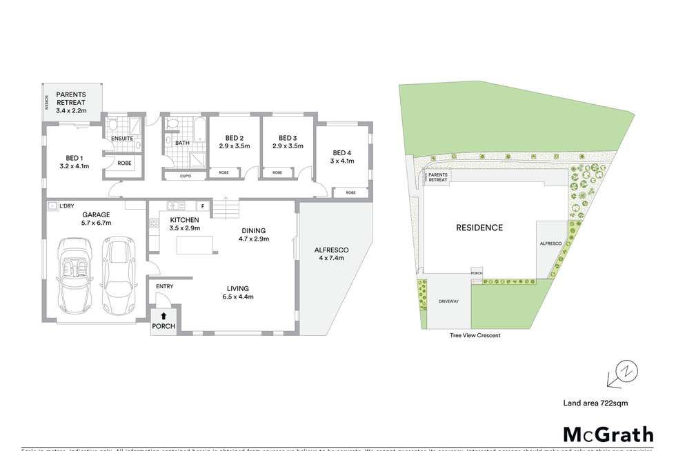 Floorplan of Homely house listing, 15 Tree View Crescent, Little Mountain QLD 4551