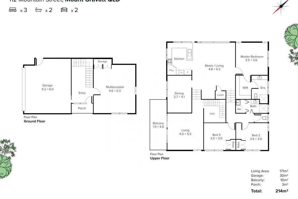 Floorplan of Homely house listing, 112 Mountain Street, Mount Gravatt QLD 4122
