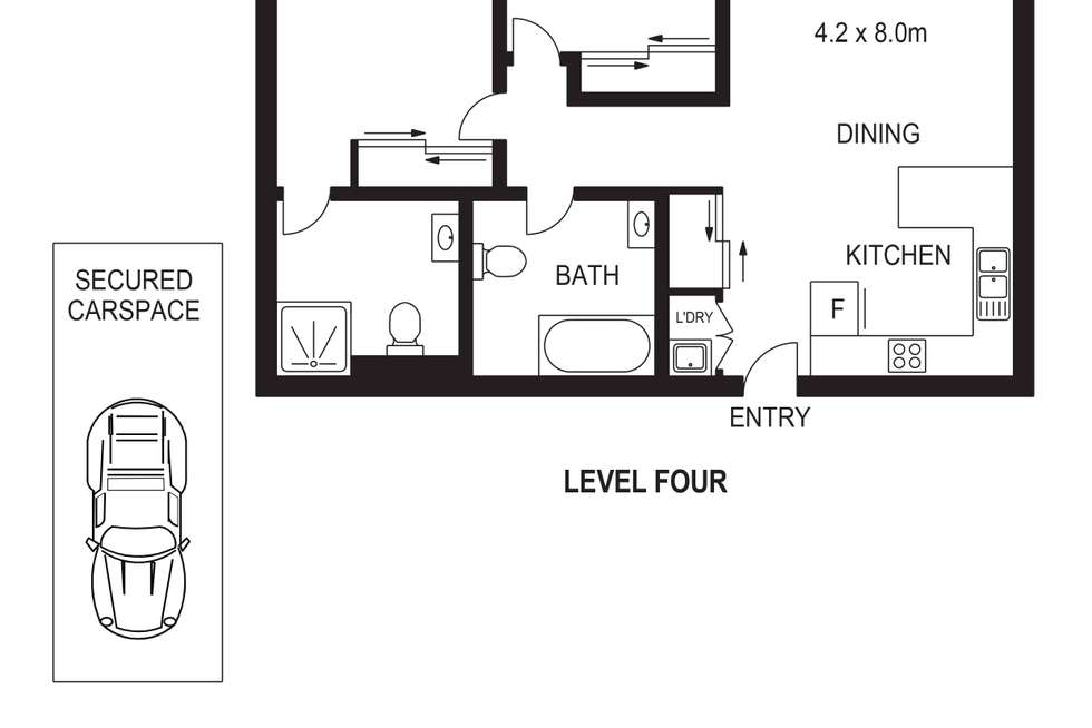 Floorplan of Homely apartment listing, 71/40-50 Union Road, Penrith NSW 2750