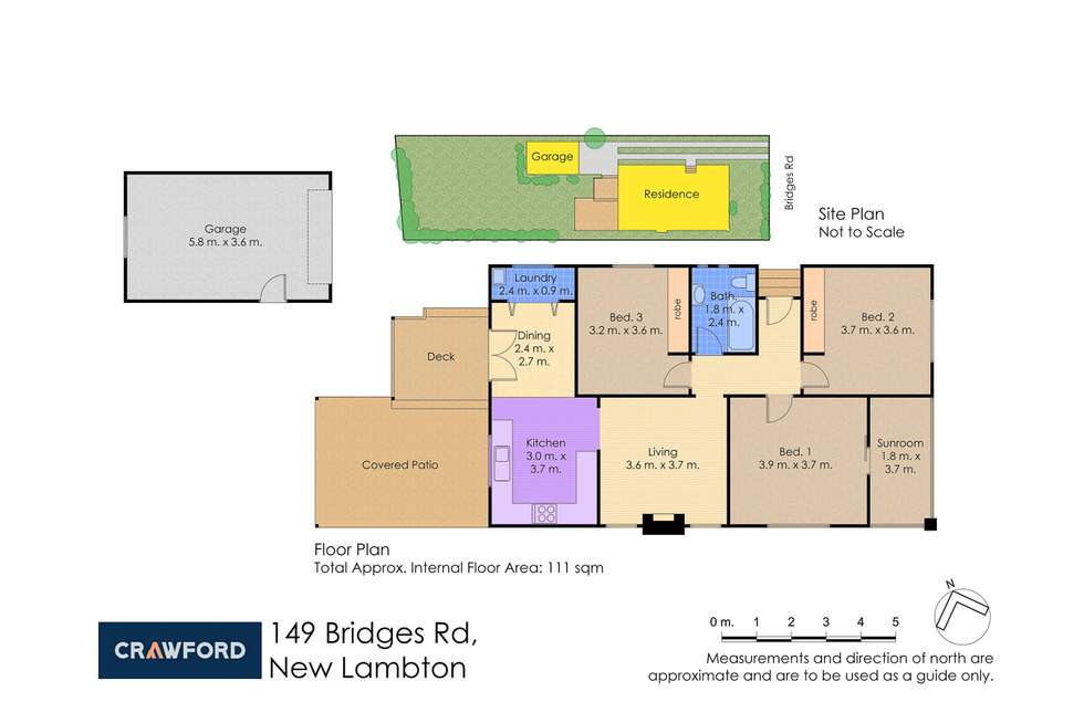 Floorplan of Homely house listing, 149 Bridges Road, New Lambton NSW 2305