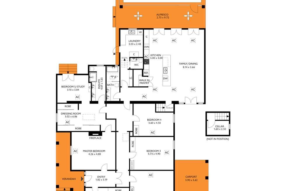 Floorplan of Homely house listing, 72 Fisher Street, Fullarton SA 5063