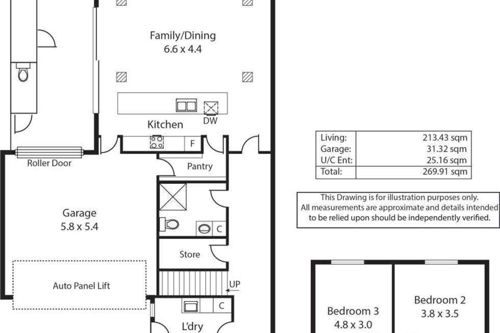 Floorplan of Homely house listing, 2B Newhaven Avenue, Glenelg North SA 5045