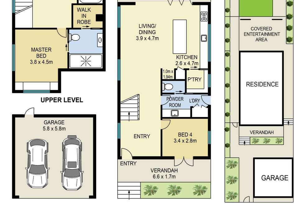Floorplan of Homely house listing, 28 Rita Street, Holland Park QLD 4121
