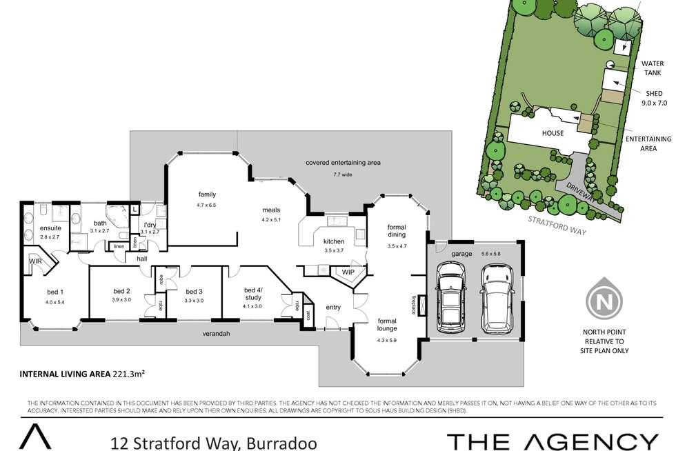 Floorplan of Homely house listing, 12 Stratford Way, Burradoo NSW 2576