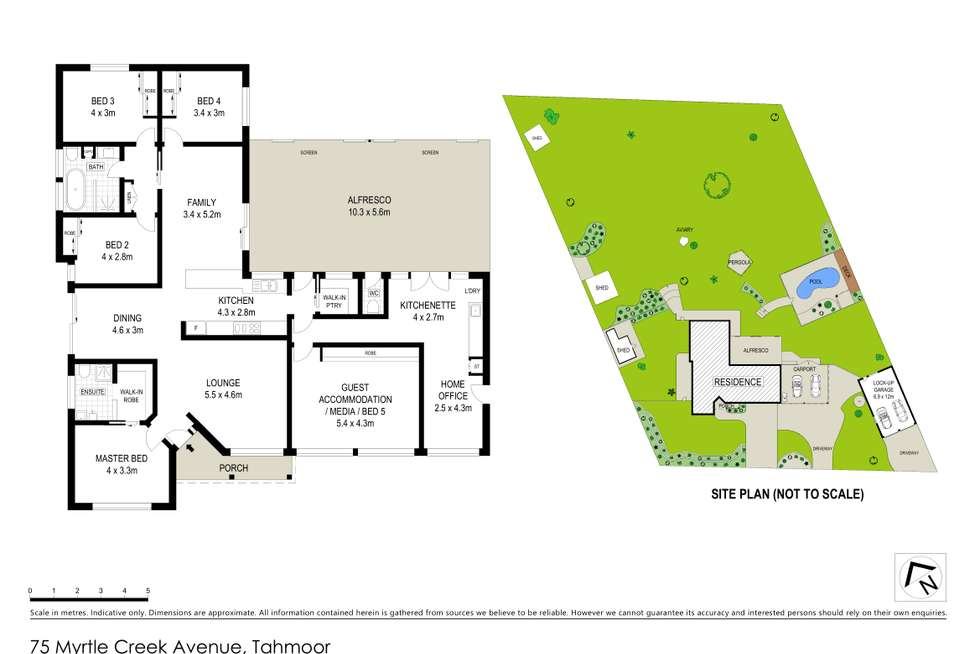 Floorplan of Homely house listing, 75 Myrtle Creek Avenue, Tahmoor NSW 2573