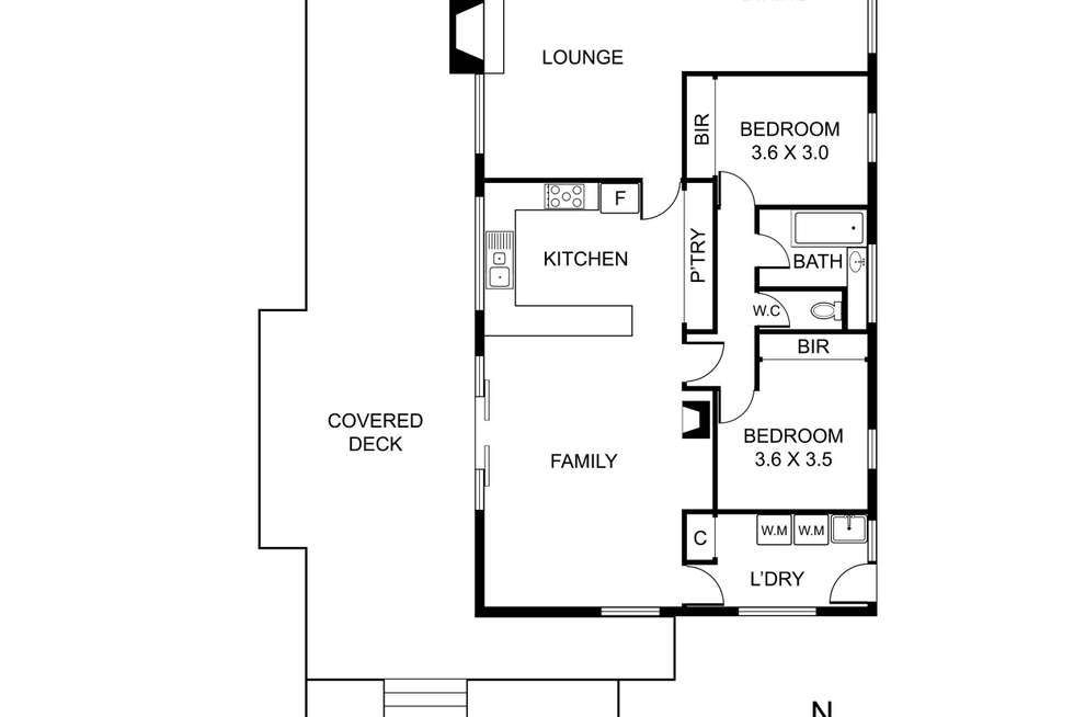 Floorplan of Homely house listing, 76 Mast Gully Road, Upwey VIC 3158
