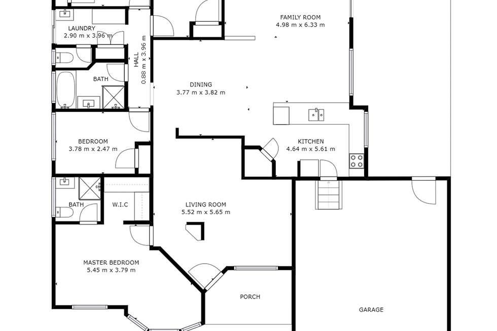 Floorplan of Homely house listing, 139 Kinross Drive, Kinross WA 6028