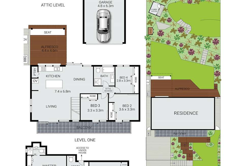 Floorplan of Homely house listing, 16 Ryan Place, Beacon Hill NSW 2100