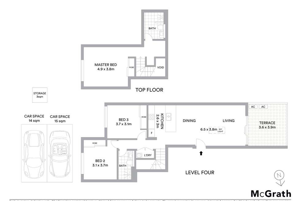 Floorplan of Homely apartment listing, 39/2-4 Lodge Street, Hornsby NSW 2077