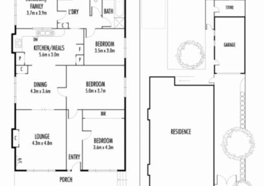 Floorplan of Homely house listing, 51 Raleigh Road, Maribyrnong VIC 3032