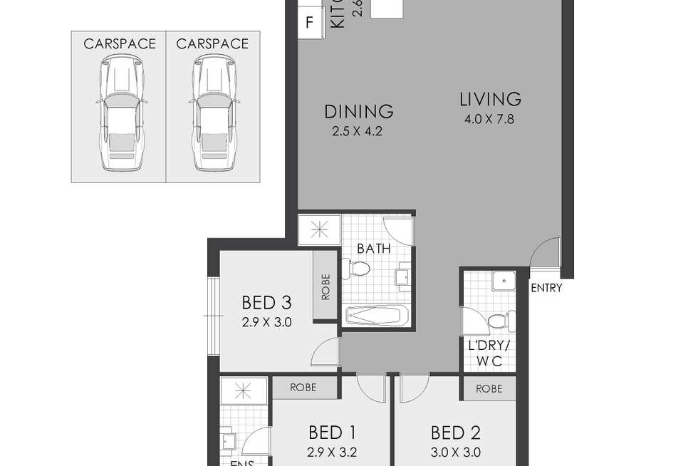 Floorplan of Homely apartment listing, 4/47-53 Hampstead Road, Homebush West NSW 2140