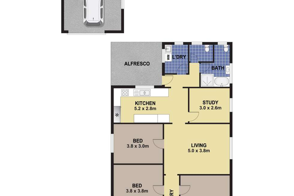 Floorplan of Homely house listing, 9 Hargrave Road, Auburn NSW 2144