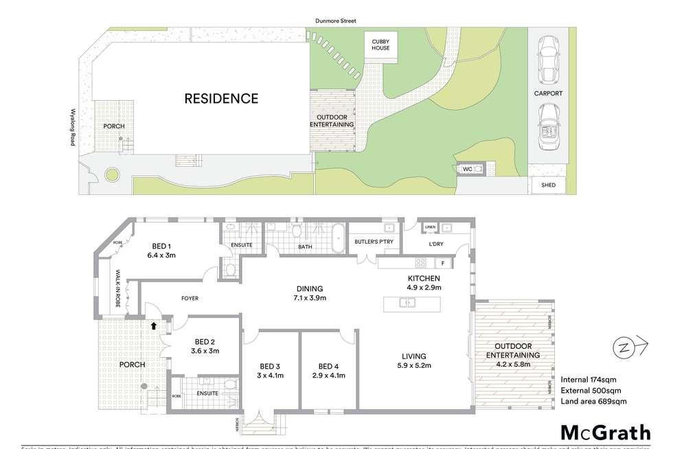 Floorplan of Homely house listing, 11 Wyalong Road, Blackwall NSW 2256