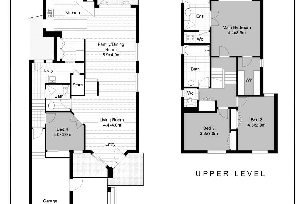 Floorplan of Homely house listing, 351 Swann Road, St Lucia QLD 4067