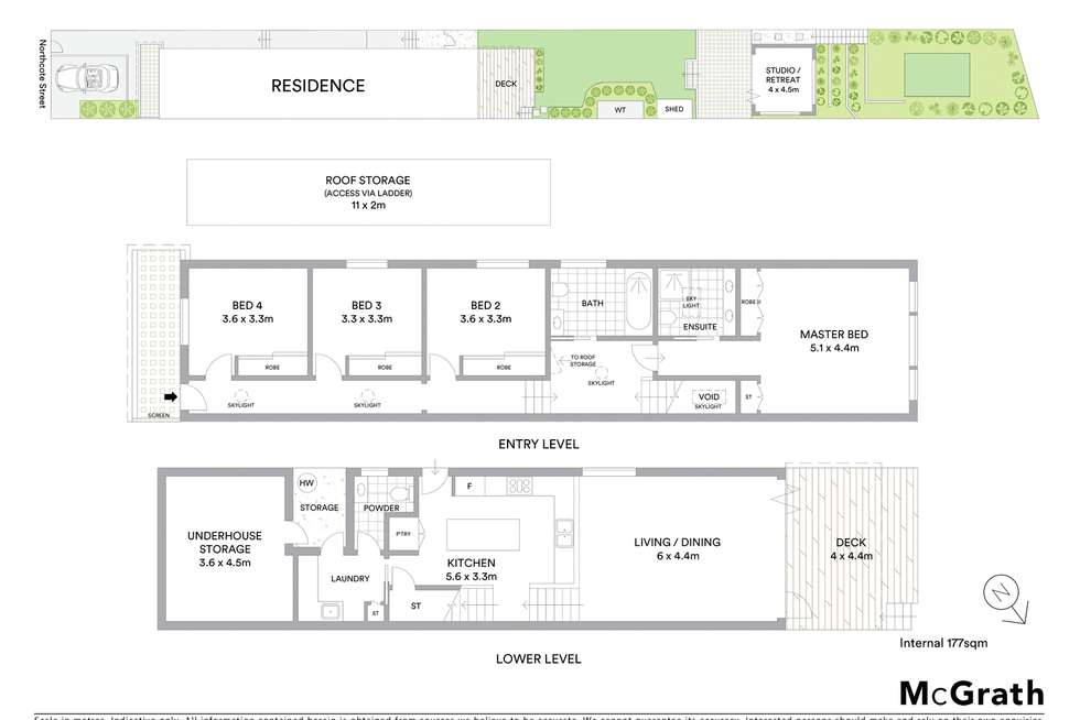 Floorplan of Homely house listing, 56 Northcote Street, Naremburn NSW 2065