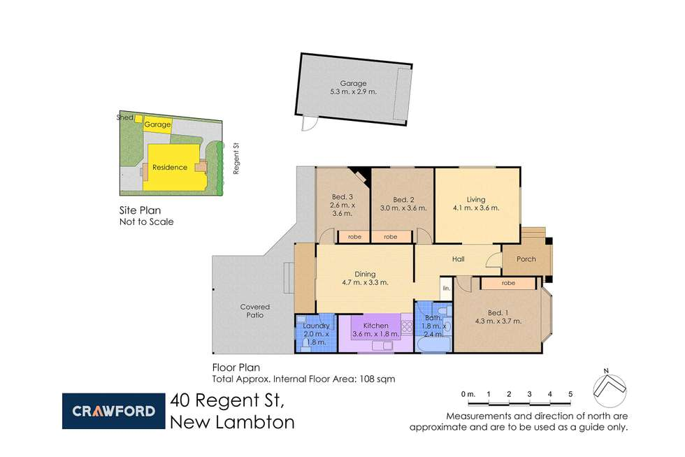 Floorplan of Homely house listing, 40 Regent Street, New Lambton NSW 2305
