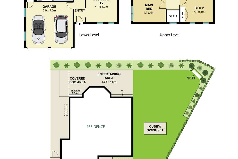 Floorplan of Homely house listing, 3 Harwood Place, Seaforth NSW 2092
