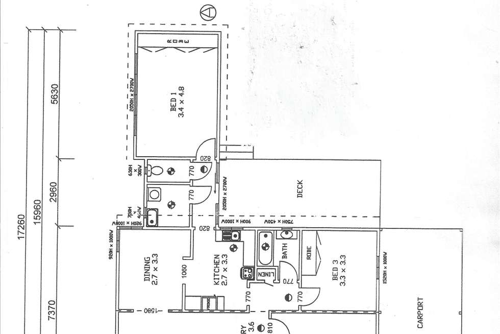 Floorplan of Homely ruralOther listing, 21 Thomas Street, Dunolly VIC 3472