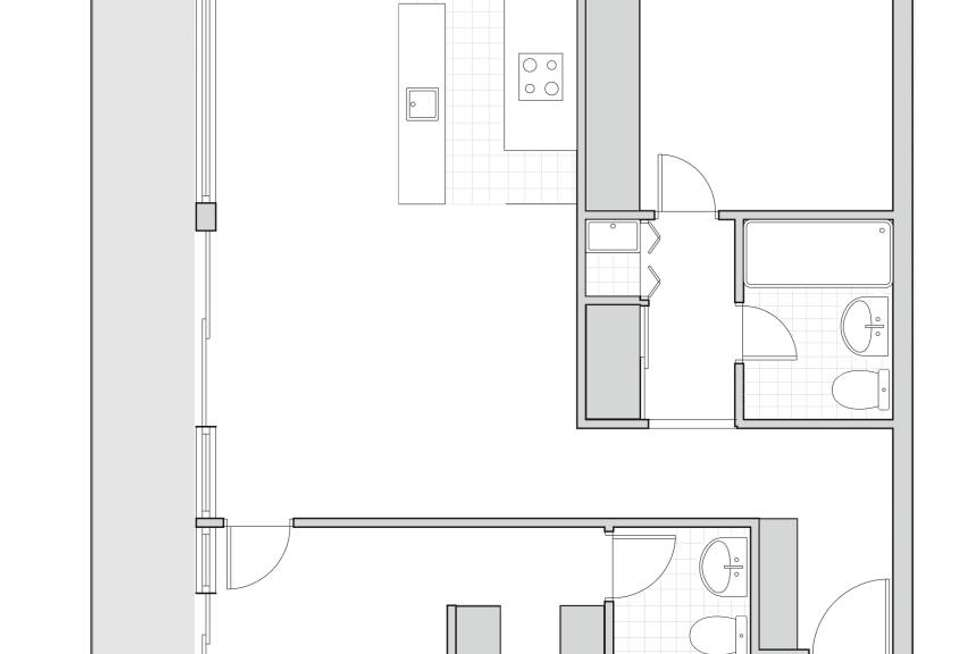 Floorplan of Homely apartment listing, 49/44 Macquarie Street, Barton ACT 2600
