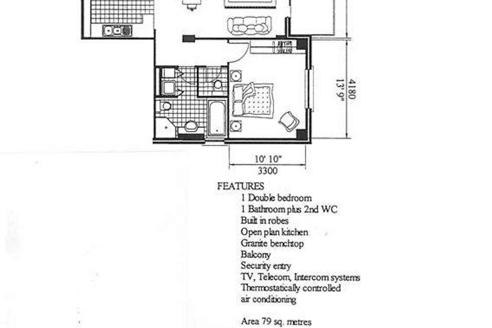 Floorplan of Homely apartment listing, 15/42 Charlick Circuit, Adelaide SA 5000