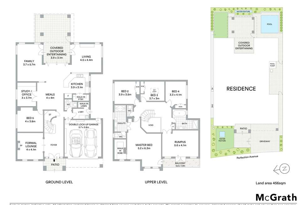 Floorplan of Homely house listing, 152 Perfection Avenue, Stanhope Gardens NSW 2768