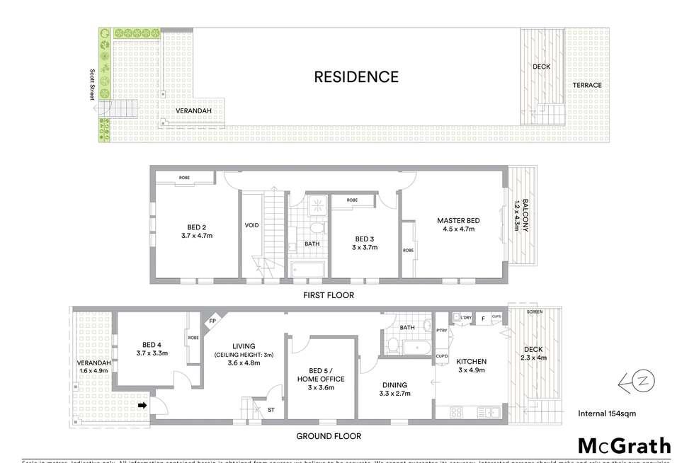 Floorplan of Homely house listing, 10 Scott Street, Bronte NSW 2024