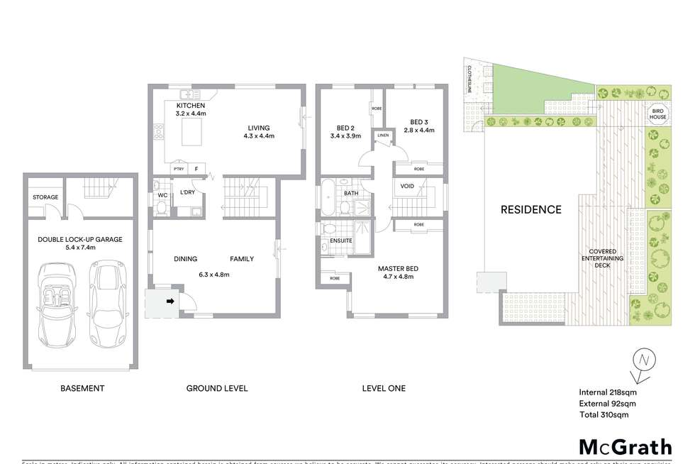 Floorplan of Homely townhouse listing, 7/40 Gollan Avenue, Oatlands NSW 2117