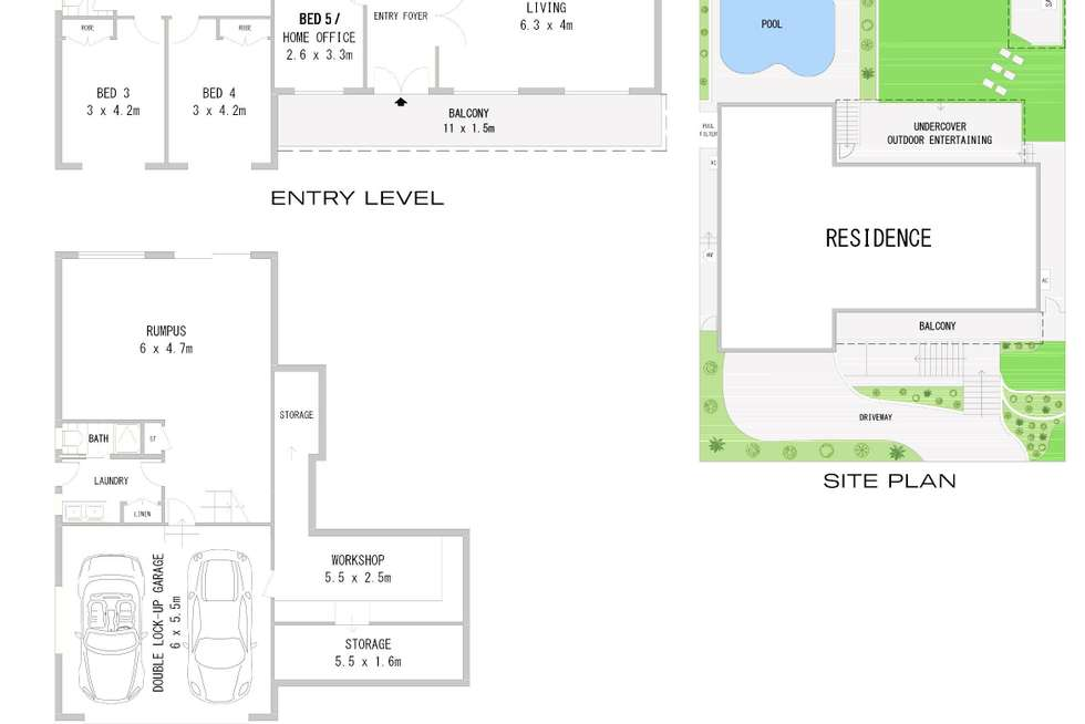 Floorplan of Homely house listing, 97 Lucinda Avenue, Bass Hill NSW 2197
