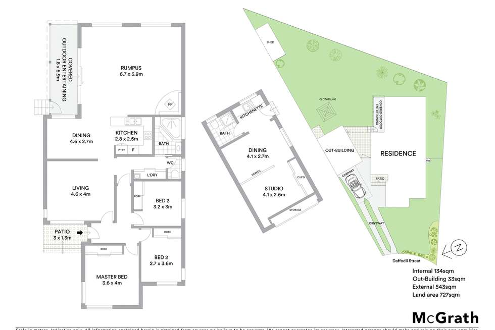 Floorplan of Homely house listing, 3 Daffodil Street, Marayong NSW 2148