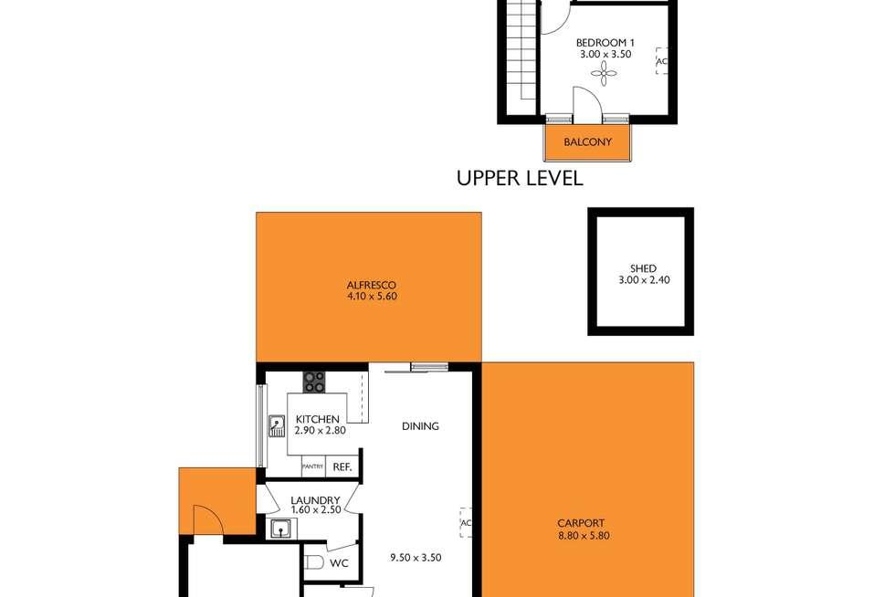 Floorplan of Homely house listing, 13 Buckberry Lane, North Haven SA 5018